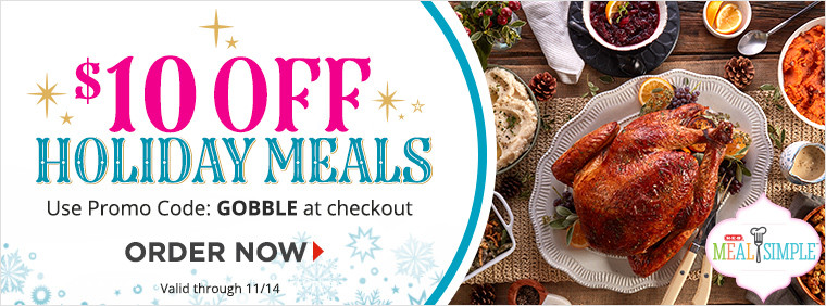 H-E-B Meal Simple Holiday Meals