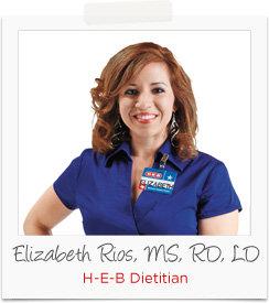 Elizabeth Rios, H-E-B Dietitian