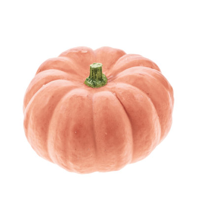 Pink Porcelain Doll Pumpkin