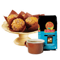 Fall Spice Coffee and Pumpkin Muffins