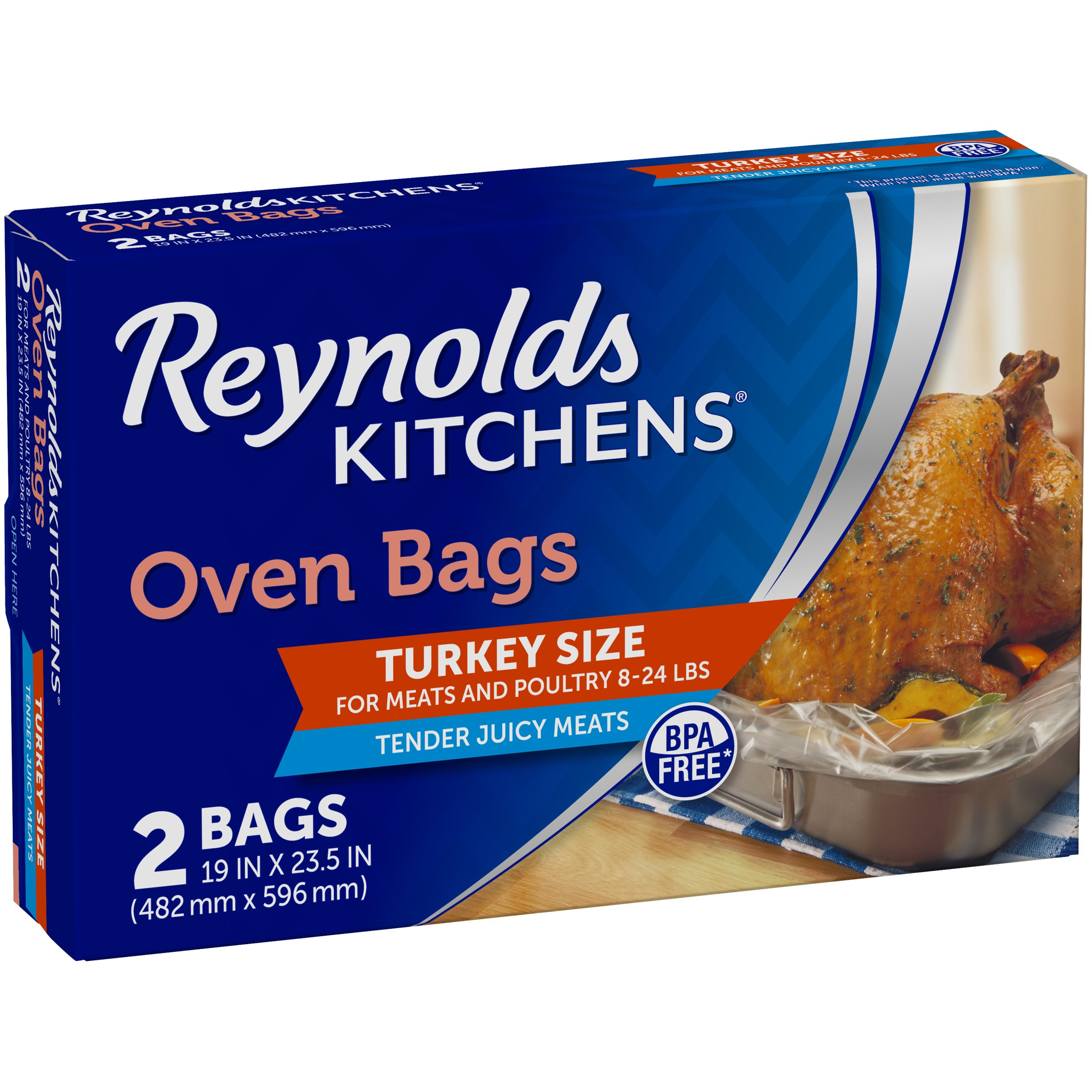 Reynolds Turkey Size Oven Bags Shop Storage Bags At Heb