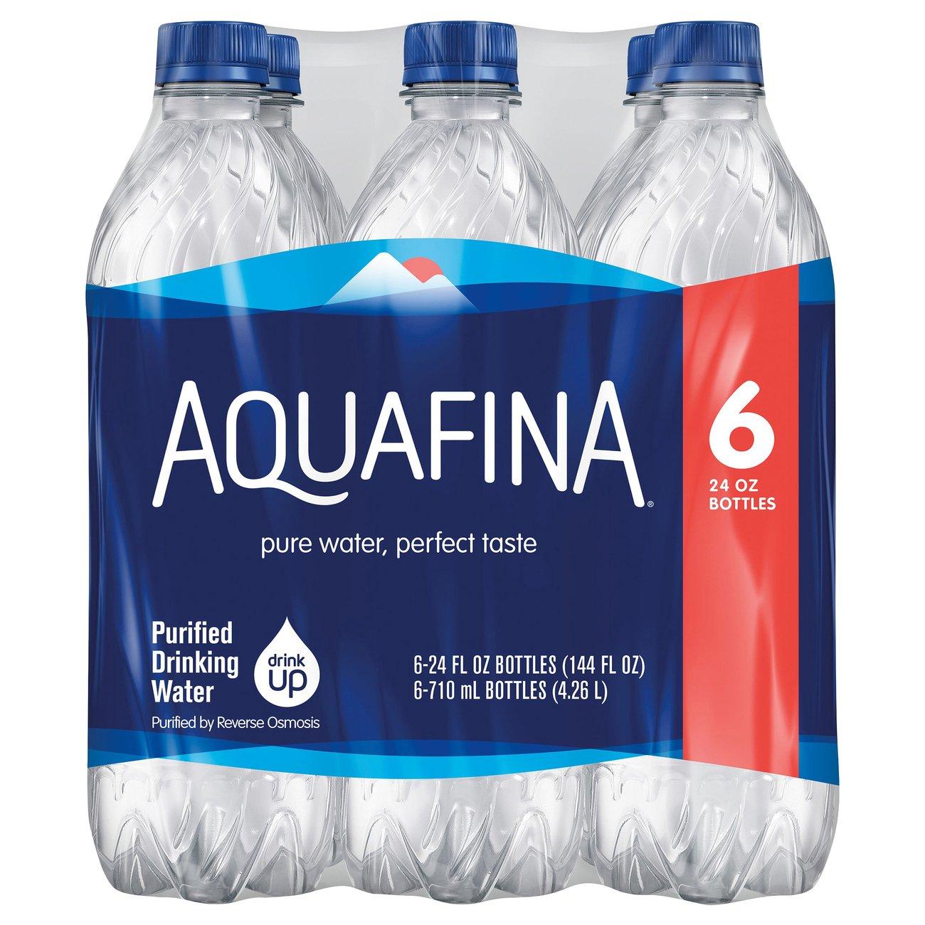 Aquafina Purified Drinking Water 24 oz