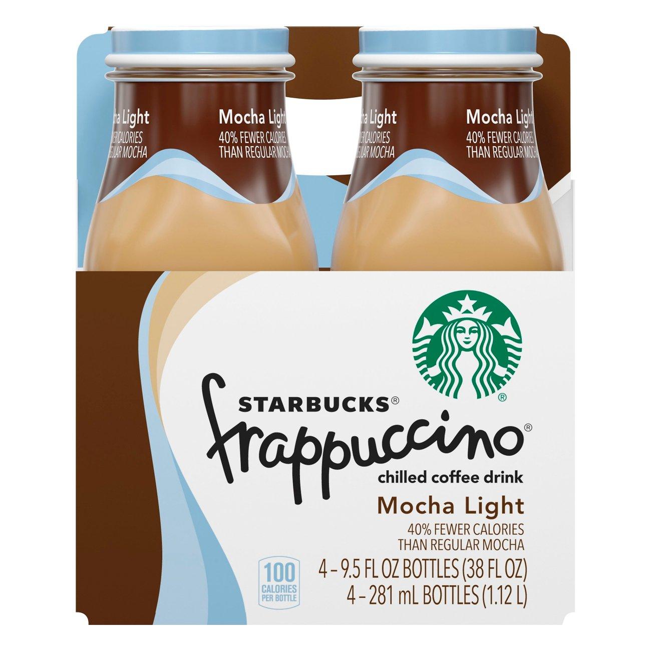 Starbucks Mocha Lite Frappuccino Coffee Drink 9.5 oz ...