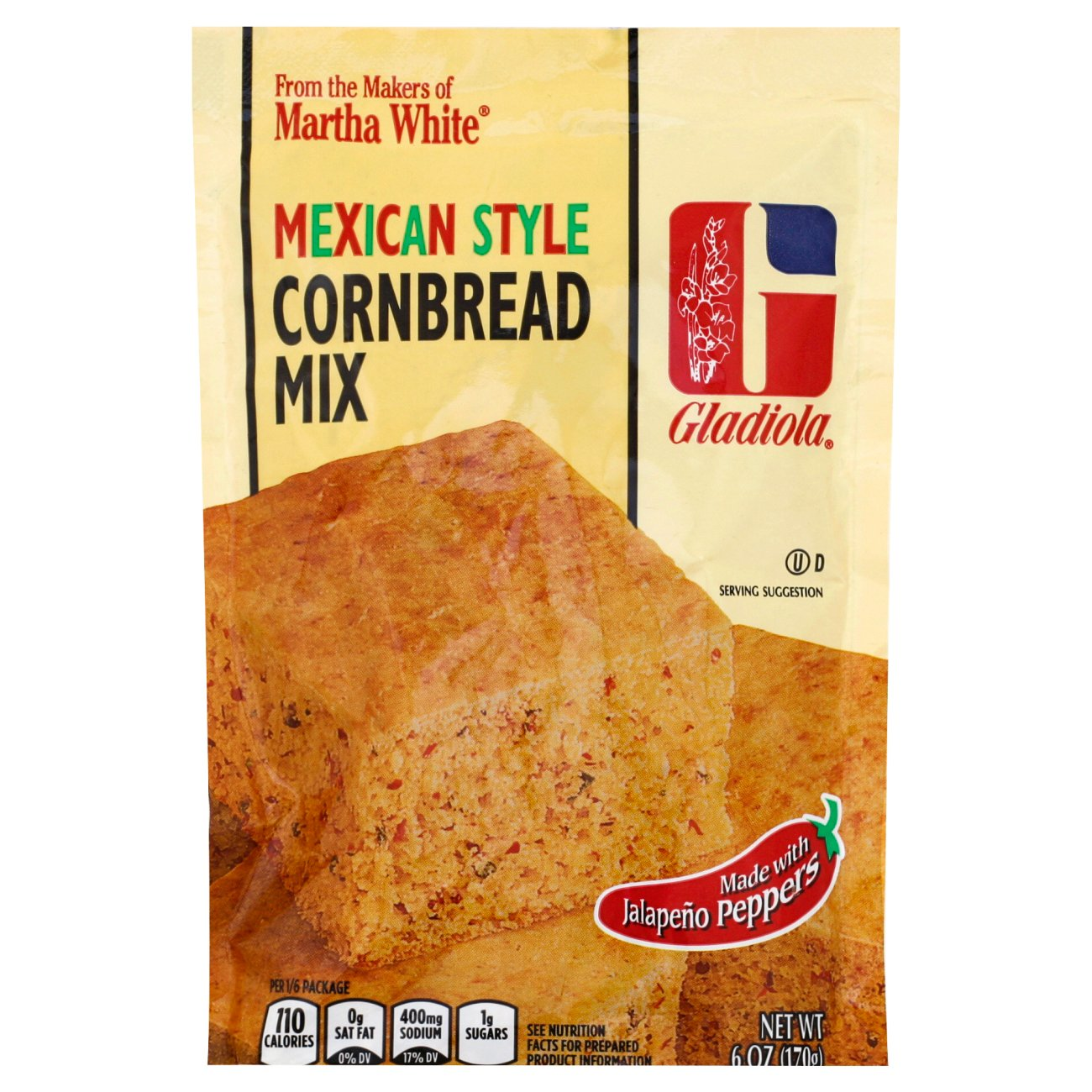 gladiola mexican style cornbread mix shop baking mix and yeast at heb