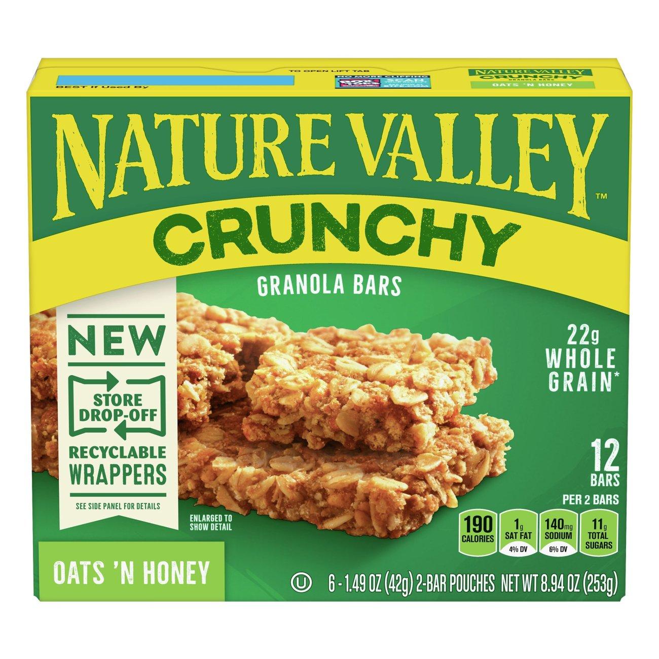 Nature Valley Crunchy Oats 'n Honey