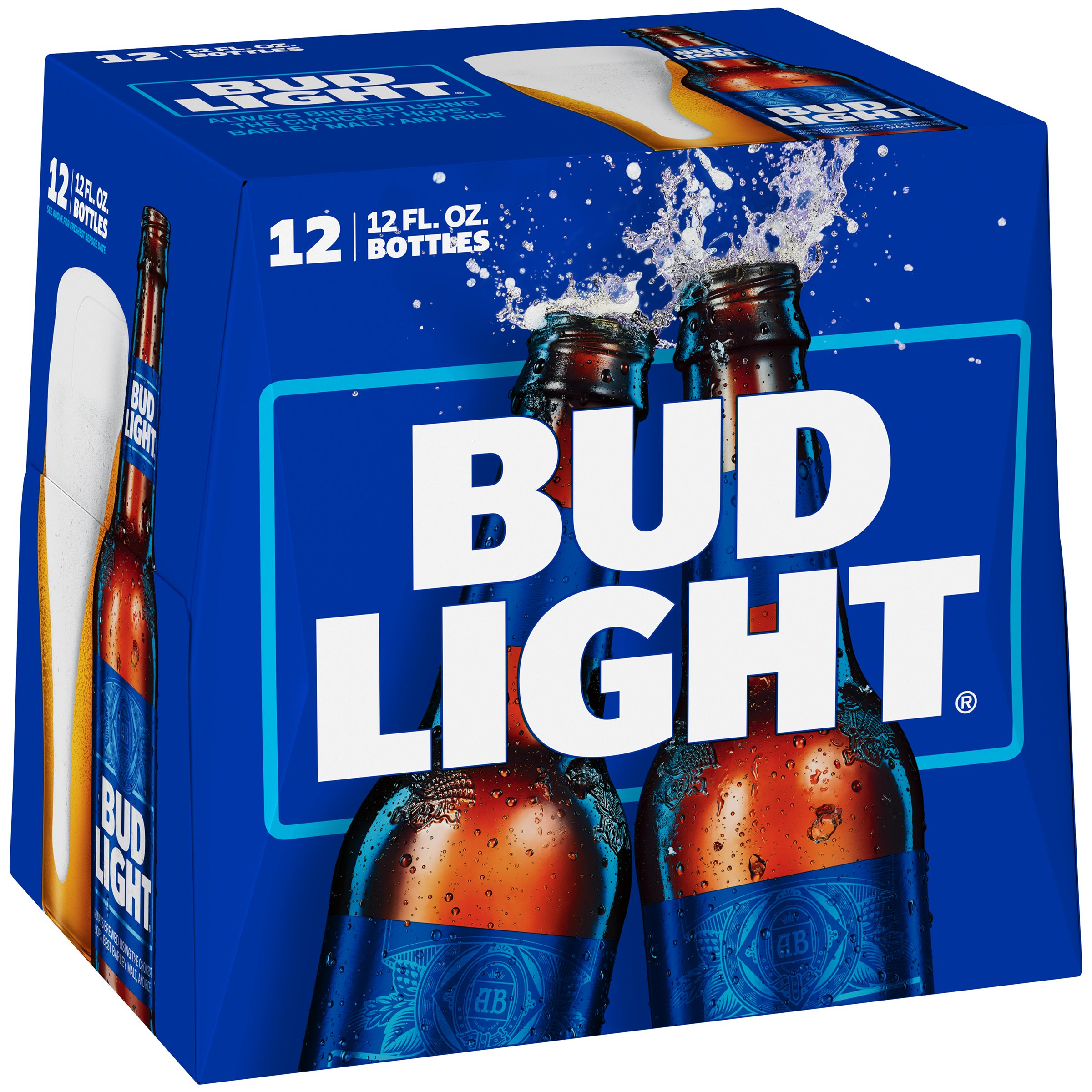 Bud Light Beer 12 Oz Bottles   Shop Domestic Beer At HEB Amazing Ideas