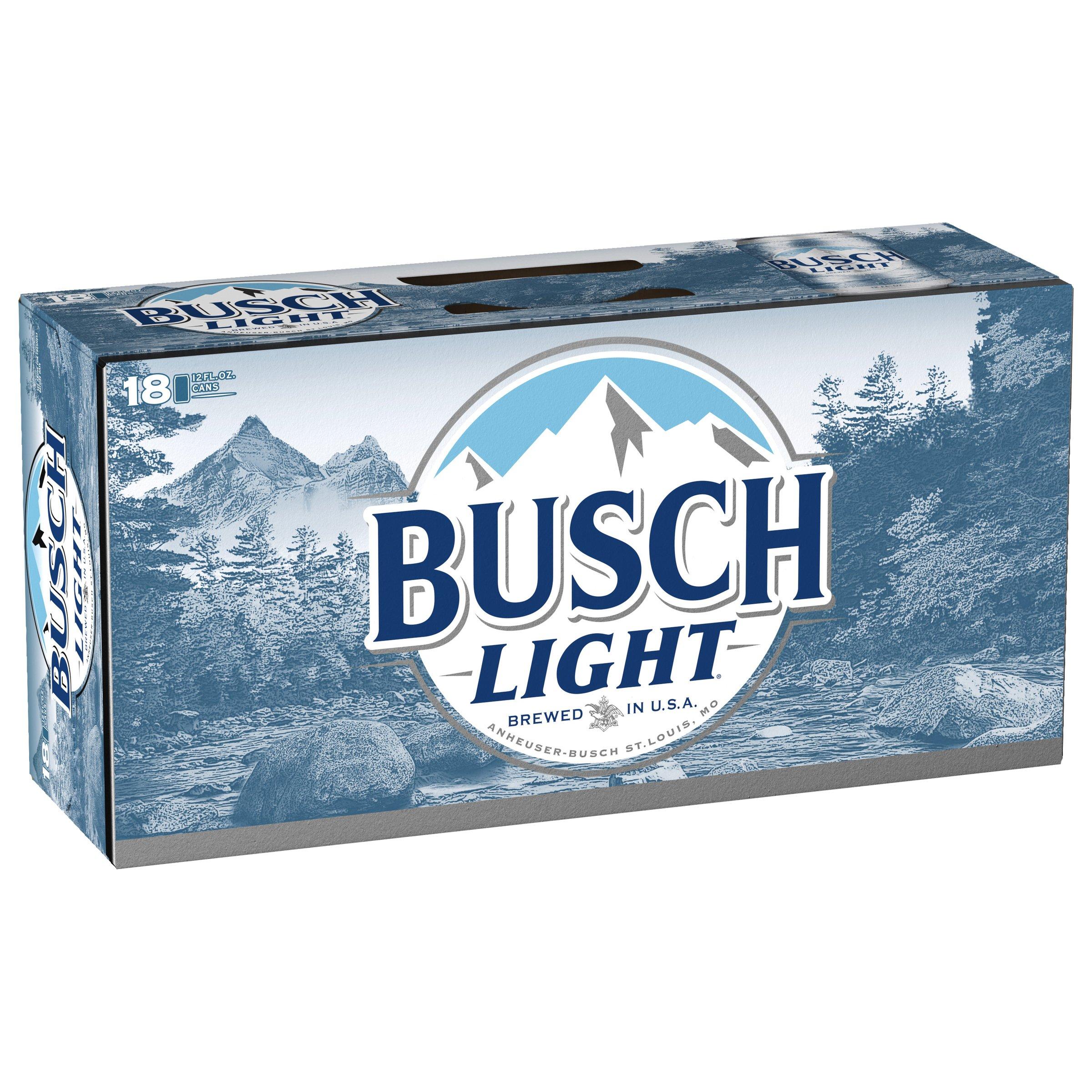 Busch Light Beer 12 Oz Cans Shop Beer At H E B