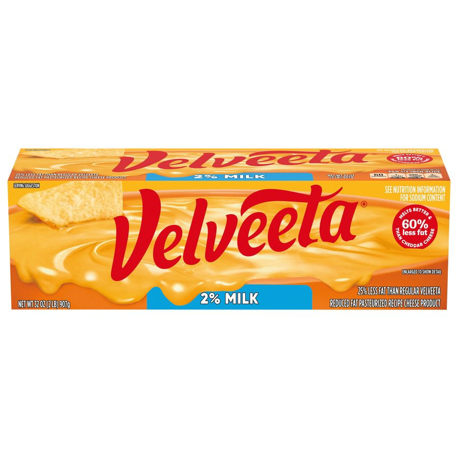Kraft Velveeta Pasteurized Prepared Reduced Fat Cheese Product Shop Block Cheese At Heb