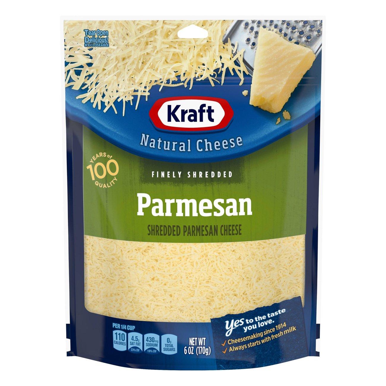 Kraft Parmesan Cheese Shredded Shop Cheese At H E B