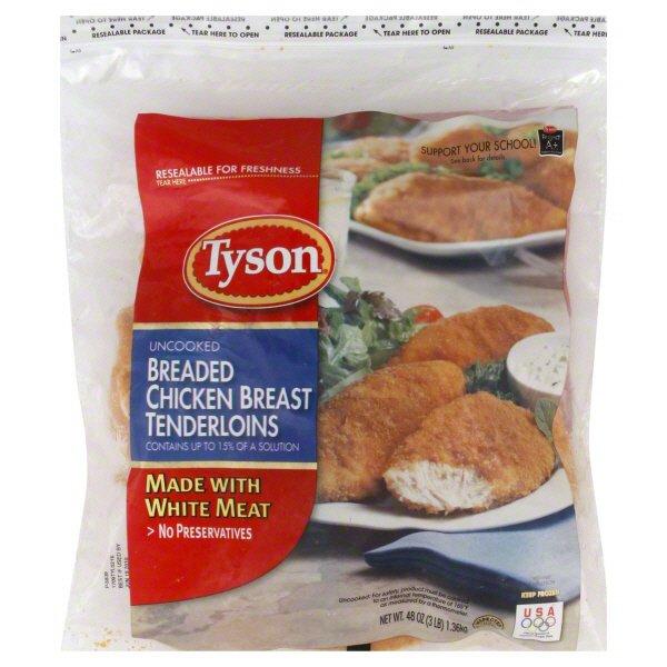 recipe: tyson panko chicken nuggets nutrition facts [23]
