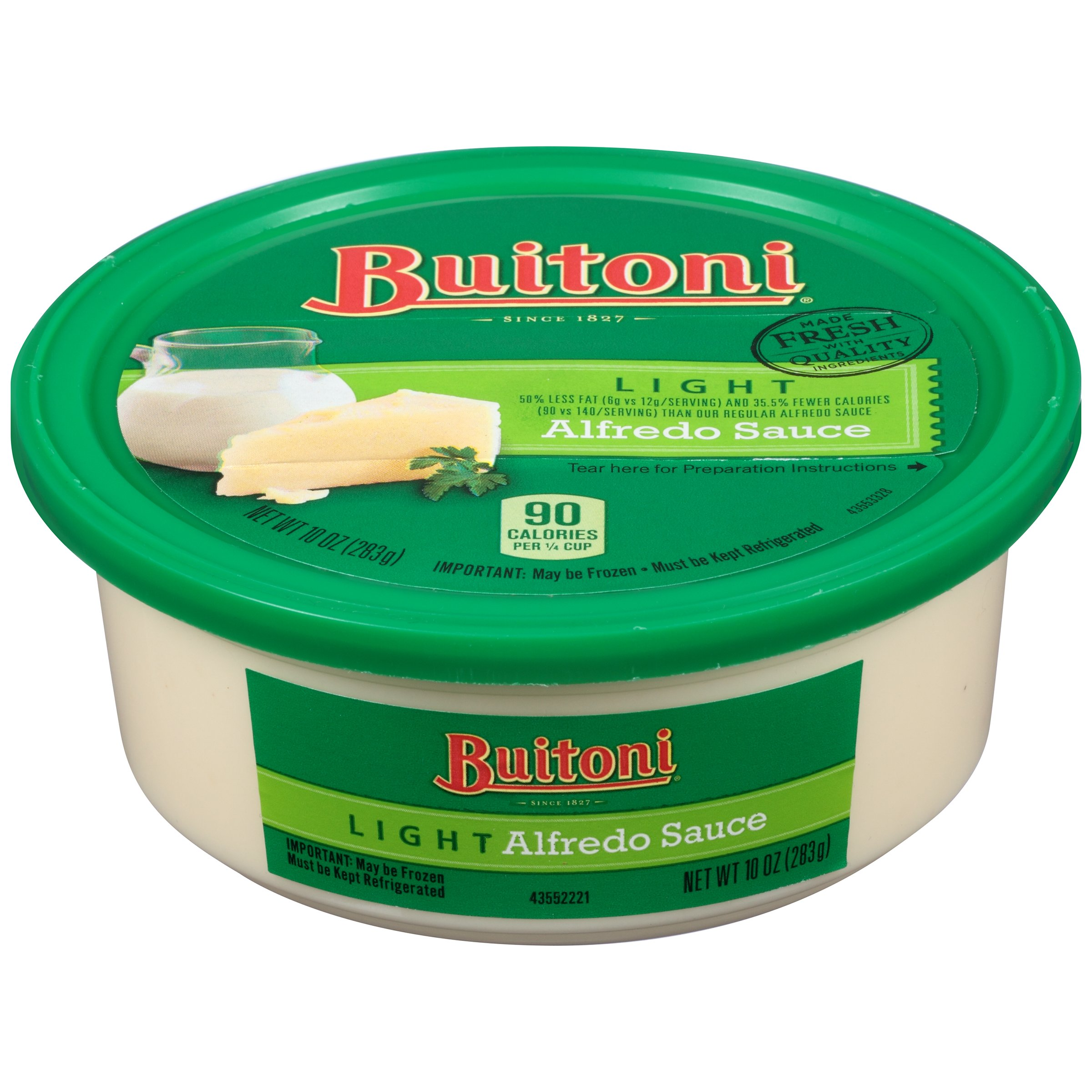 Exceptional Buitoni Light Alfredo Sauce   Shop Entrees U0026 Sides At HEB