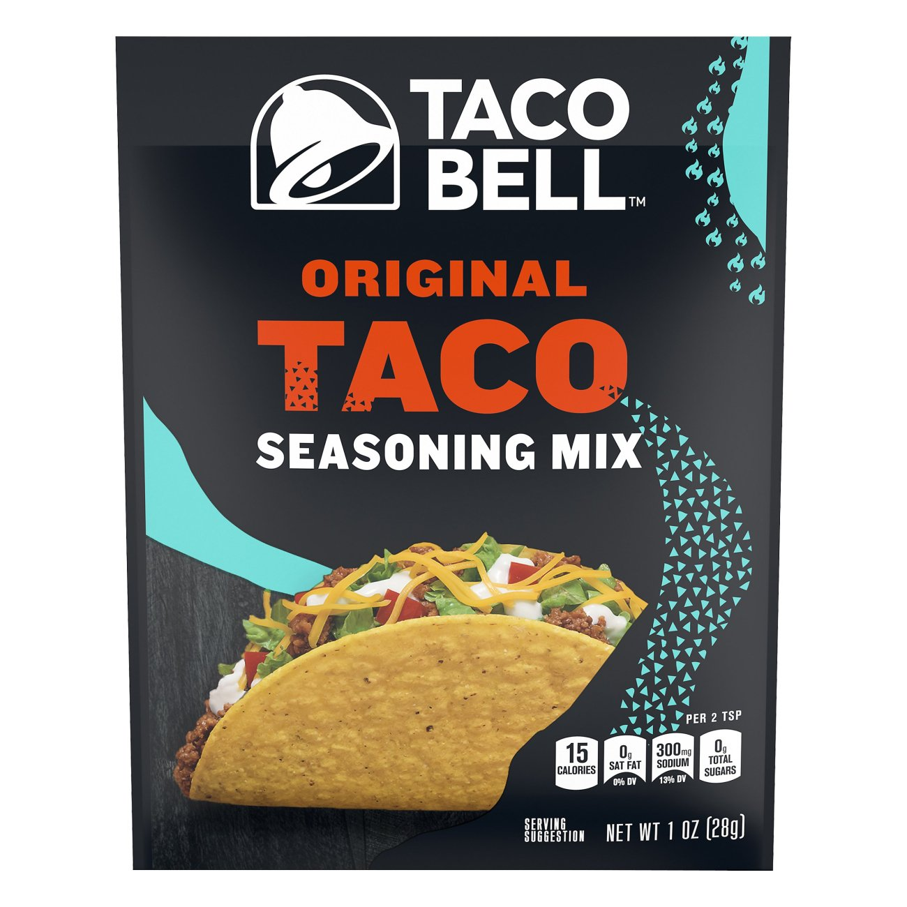 Taco Bell Original Taco Seasoning Mix Shop Spice Mixes At H E B