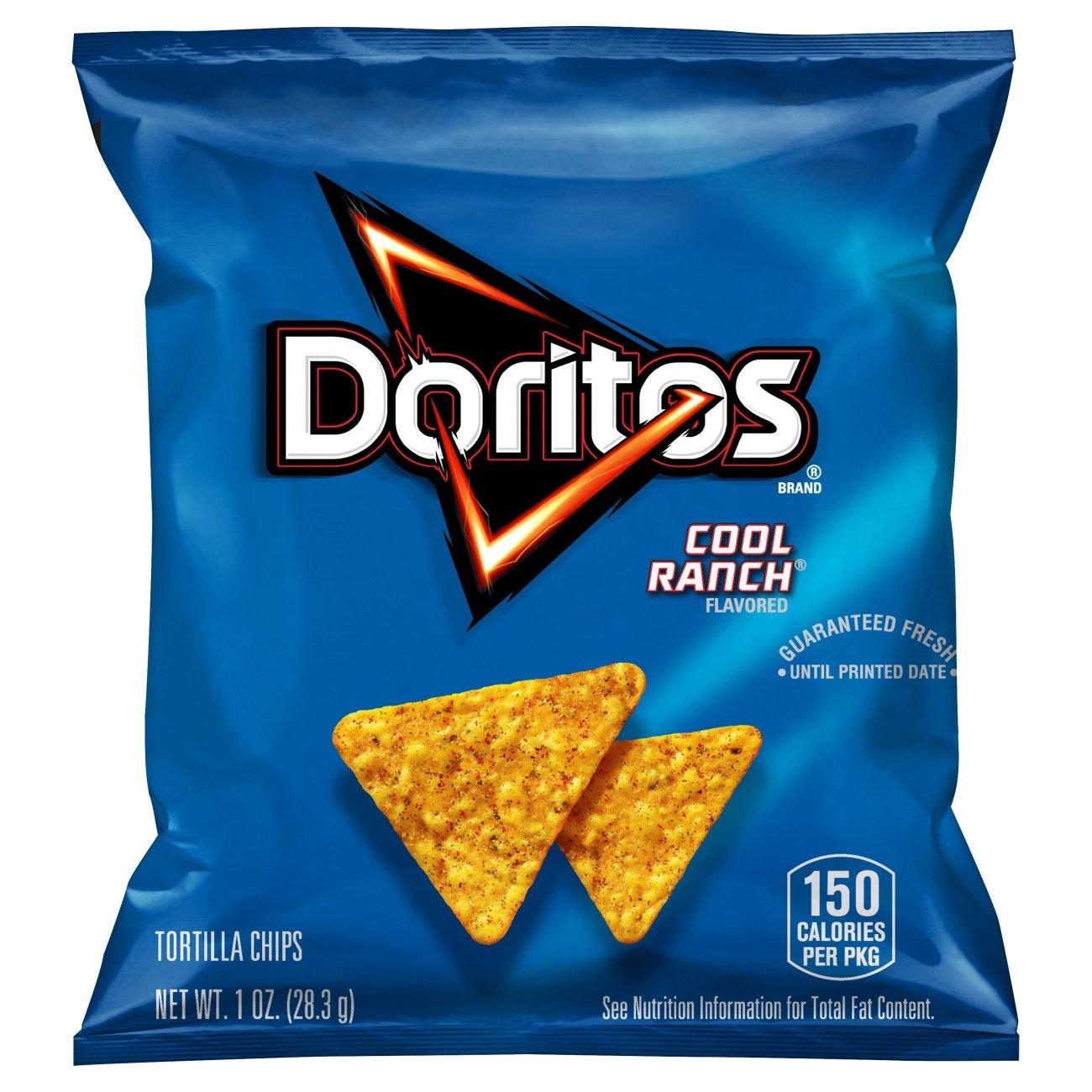 Doritos Cool Ranch Tortilla Chips Shop Chips At H E B