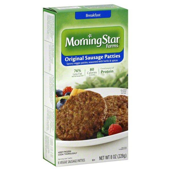 Morningstar Farms Original Veggie Sausage Patties Shop Meat