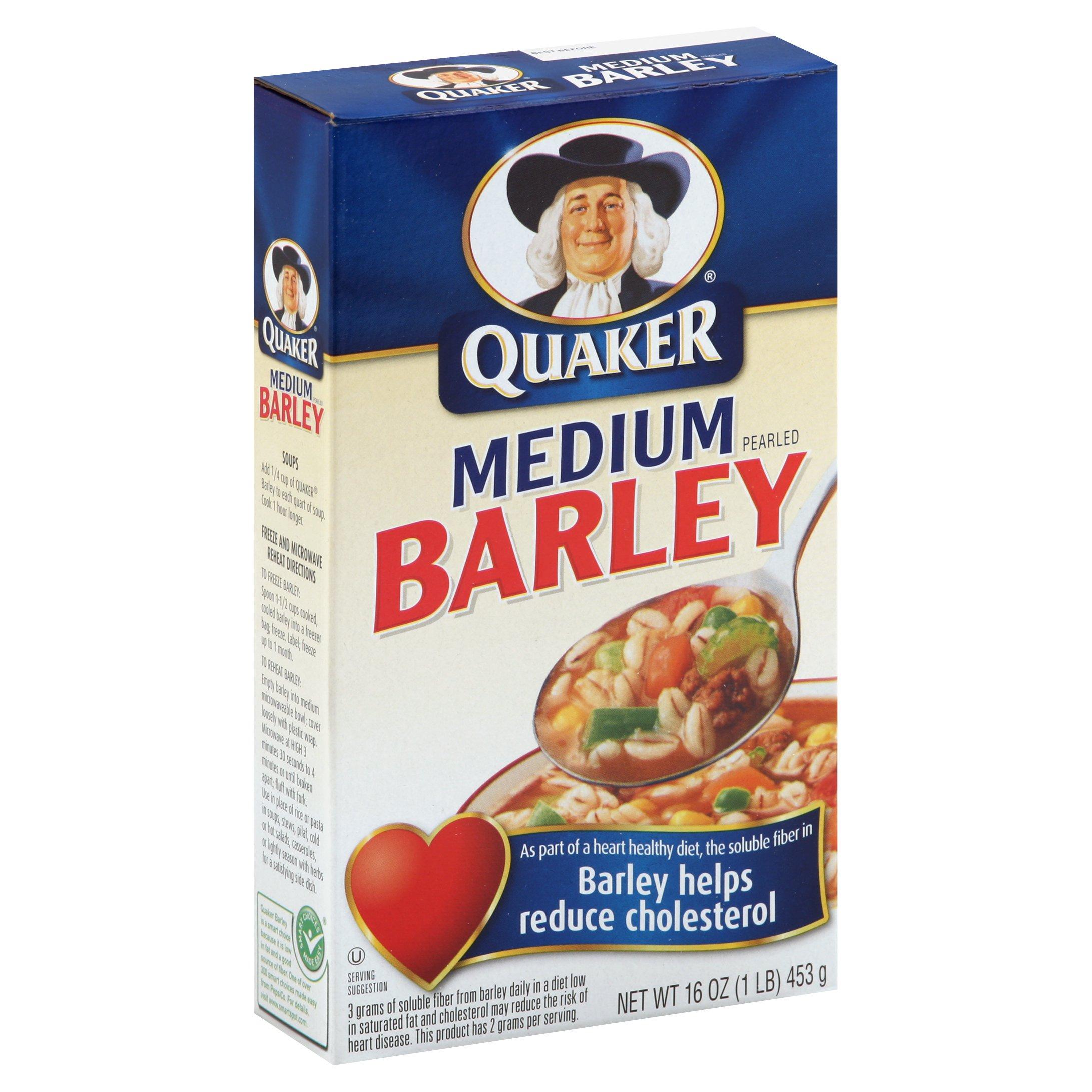 Quaker Medium Pearled Barley - Shop