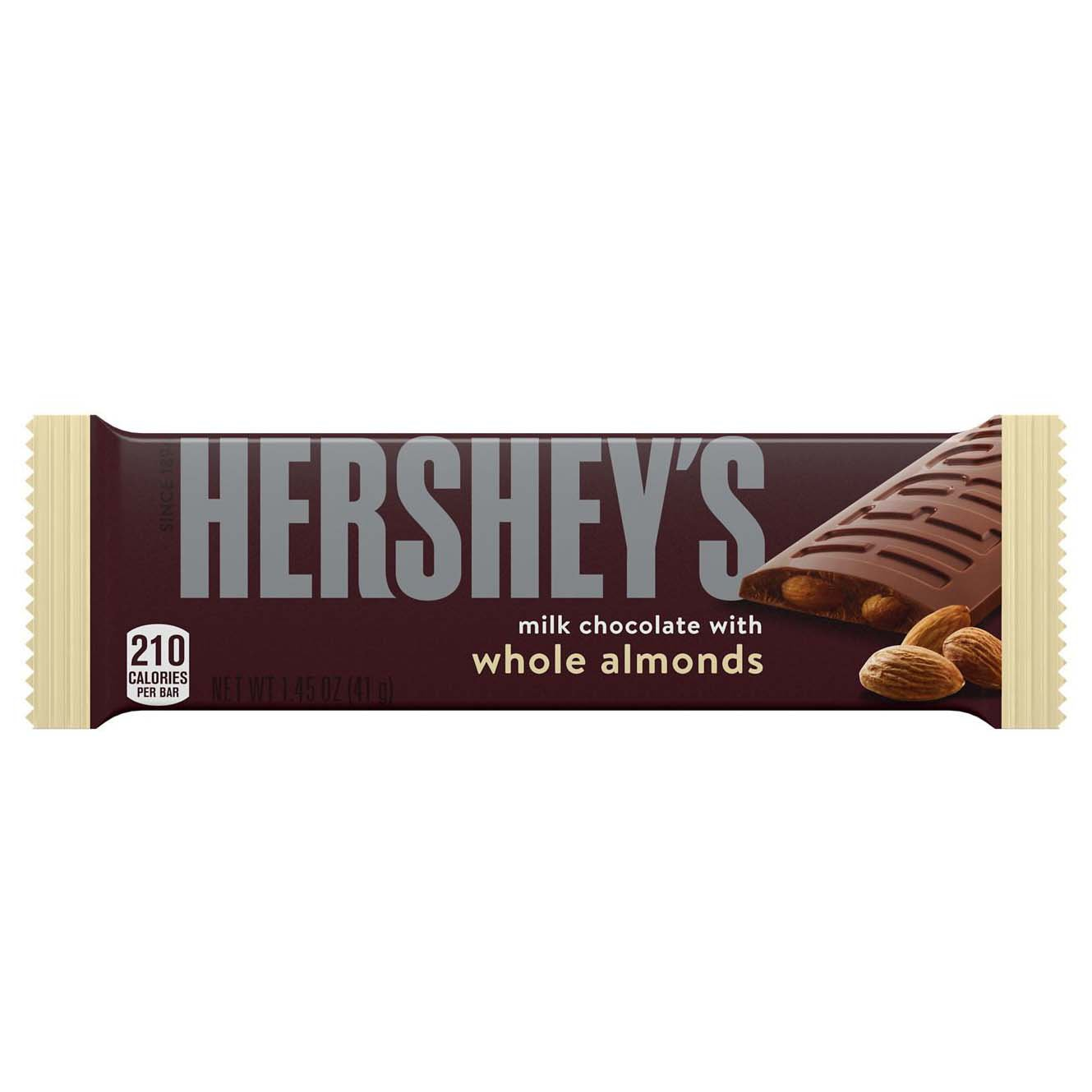 Milk Chocolate Bar with Almonds