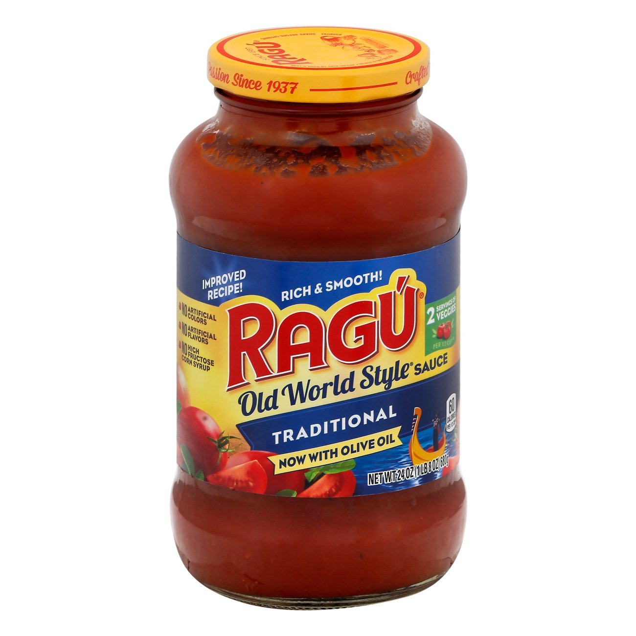 Ragu Old World Style Traditional Pasta Sauce ‑ Shop Pasta Sauces at H‑E‑B