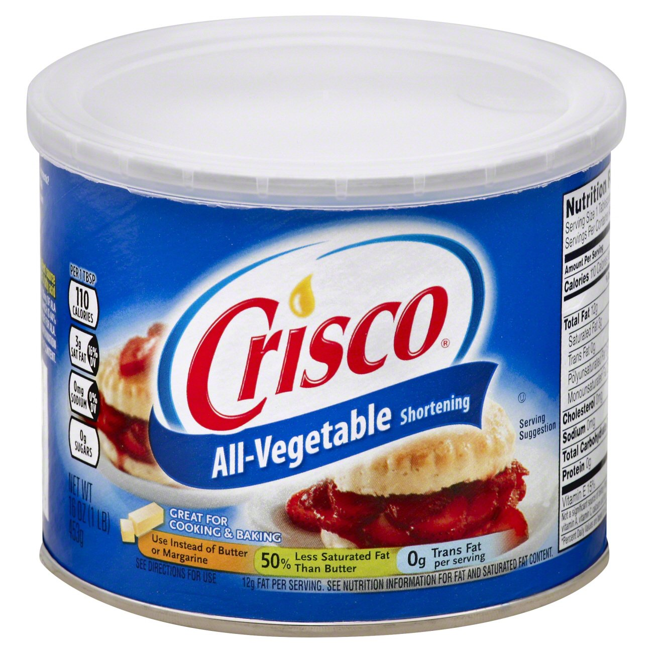 Crisco All‑Vegetable Shortening ‑ Shop Butter & Margarine at H‑E‑B