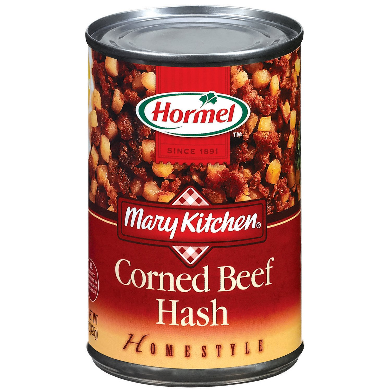 hormel mary kitchen homestyle corned beef hash - shop canned meat