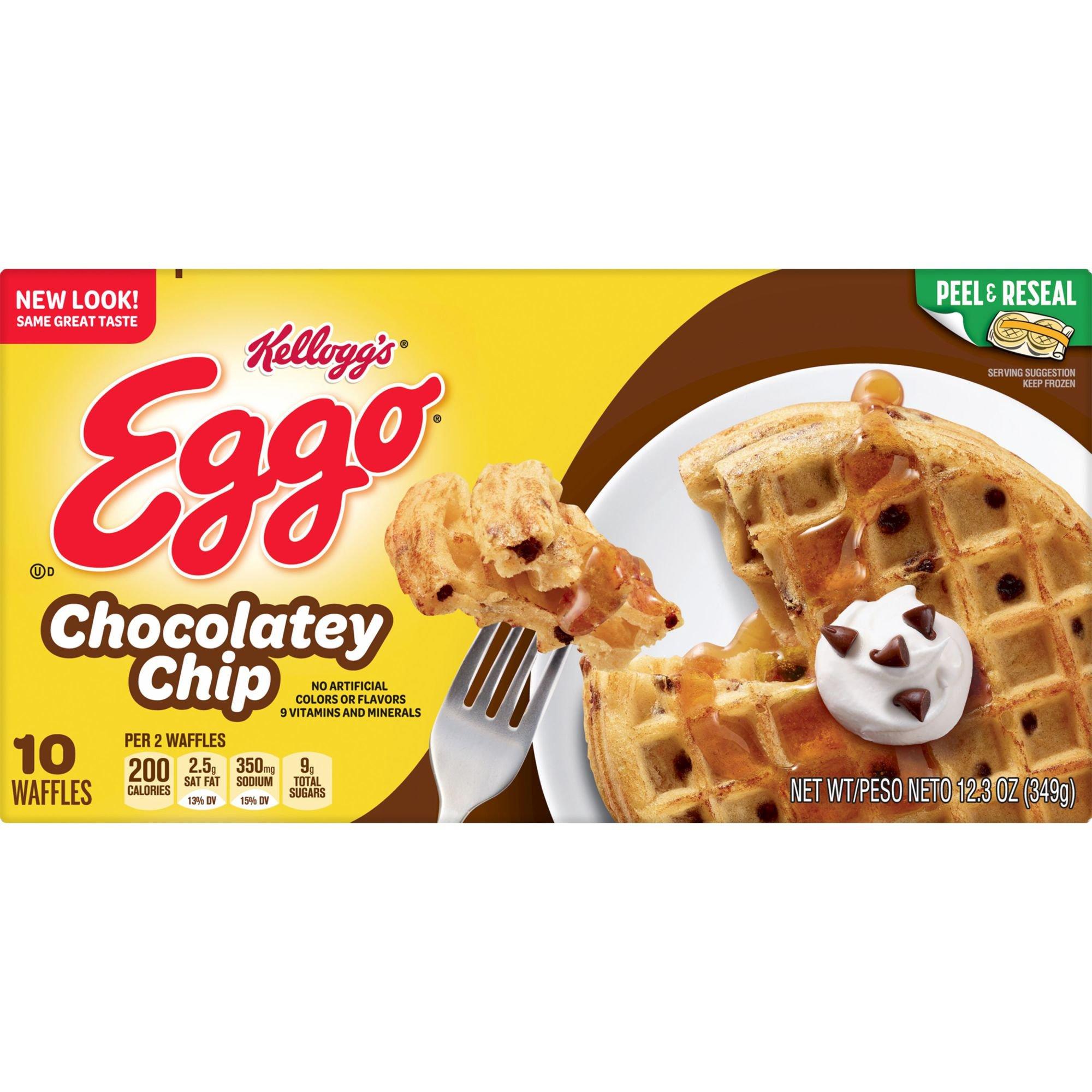 Eggo Chocolatey Chip Waffles - Shop