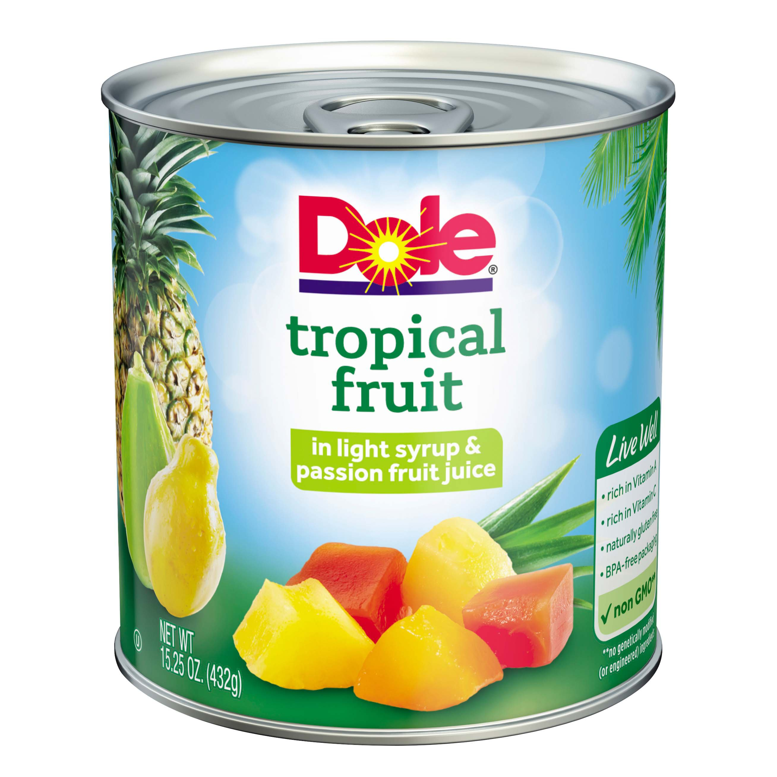 Dole Tropical Fruit Cup Nutrition Facts – Nutrition Ftempo