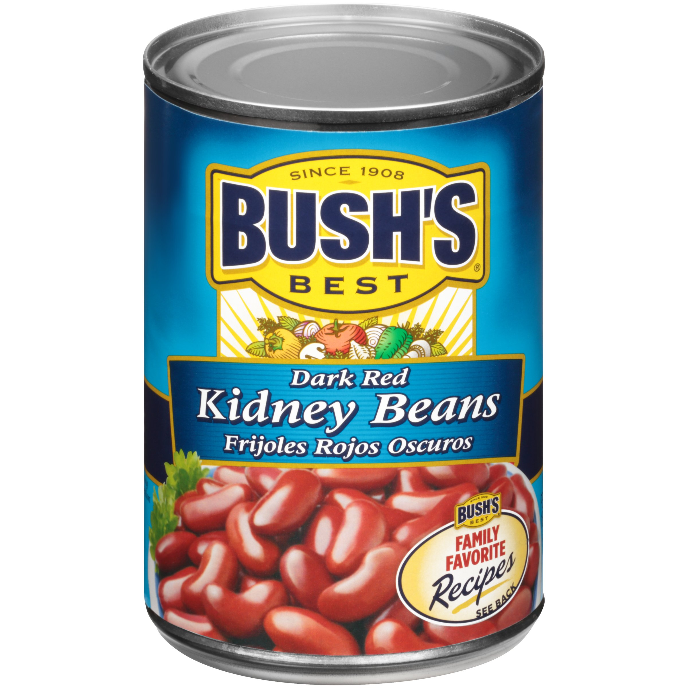 Bush S Best Dark Red Kidney Beans Shop Beans Legumes At H E B