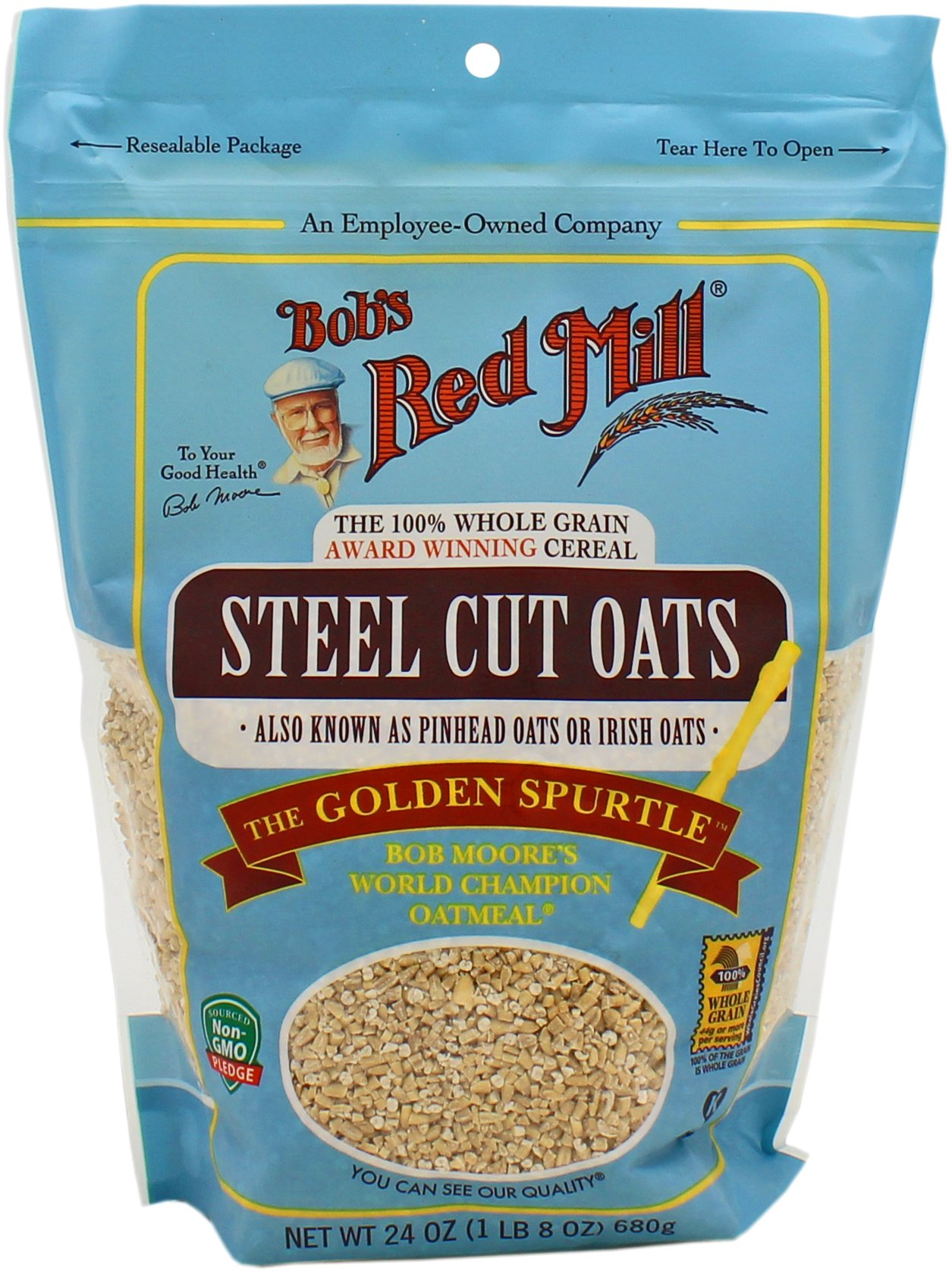 Bob S Red Mill Steel Cut Oats Shop Oatmeal Hot Cereal At H E B