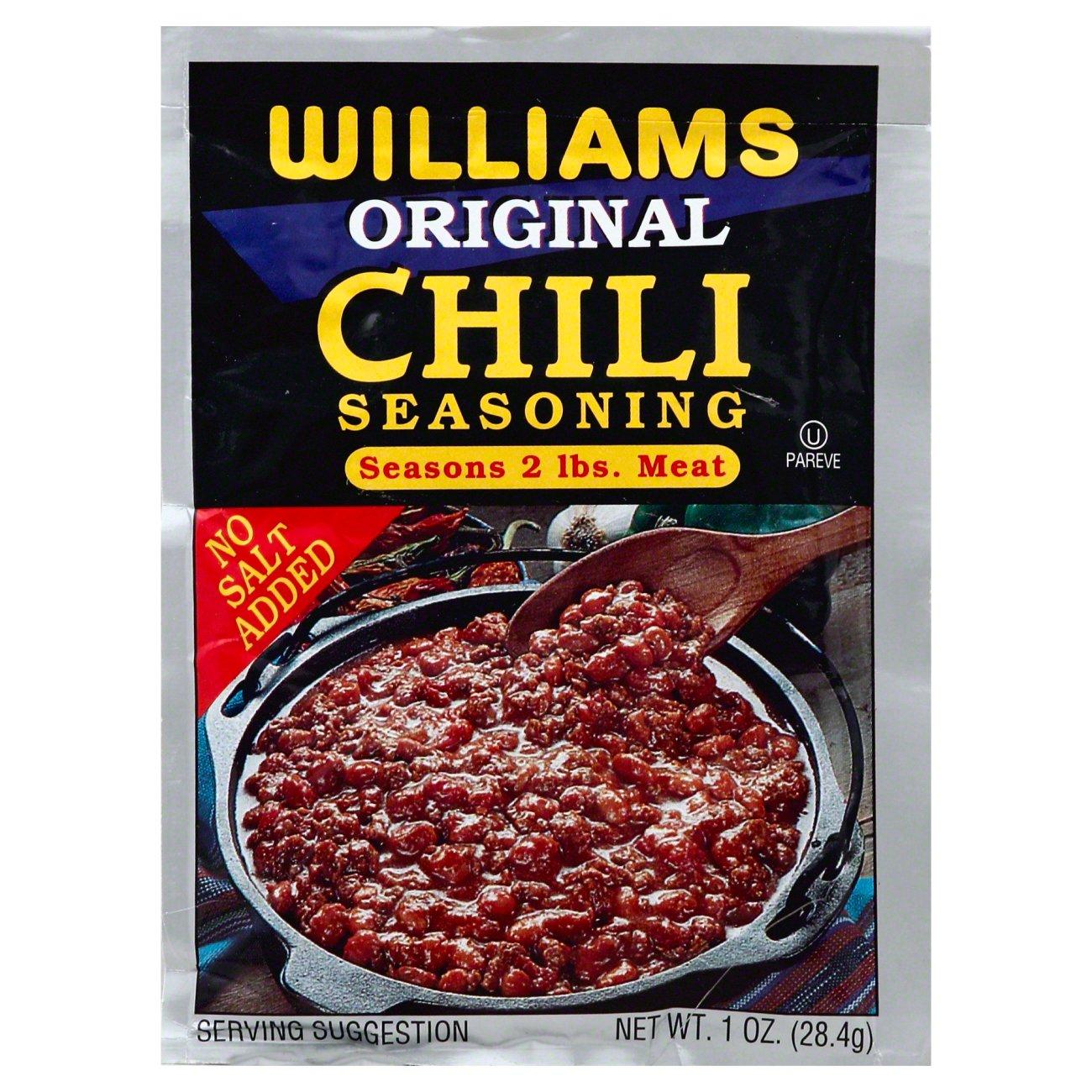 Williams Original Chili Seasoning