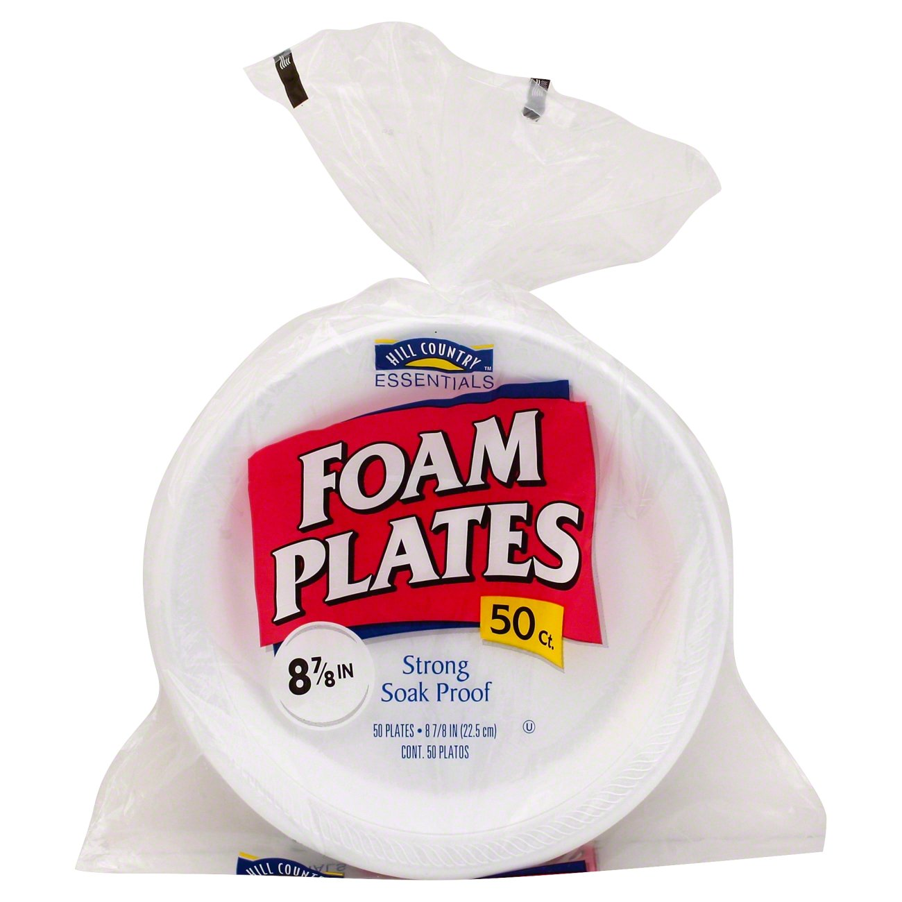 sc 1 st  HEB.com & Hill Country Fare Everday Foam Plates - Shop Disposable Tableware at HEB