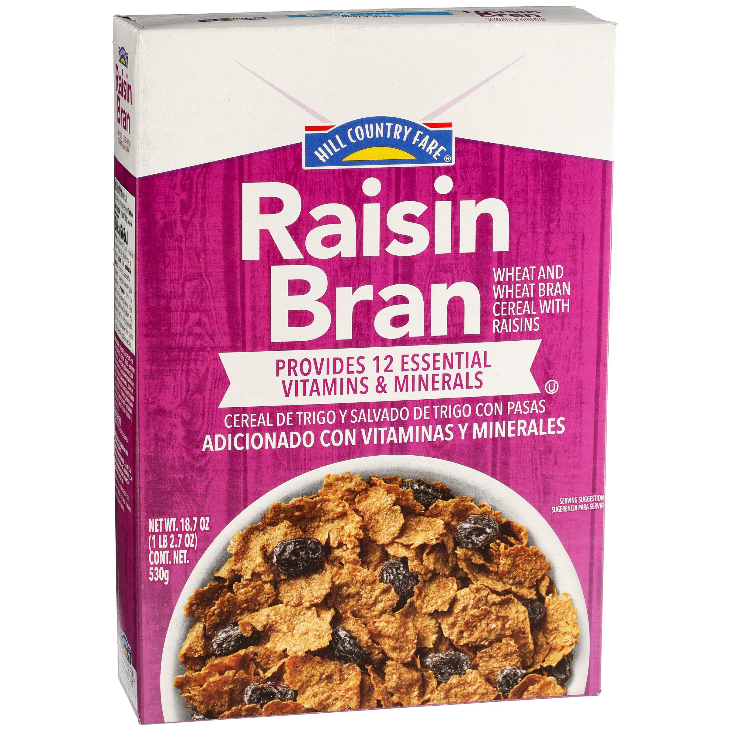 Hill Country Fare Raisin Bran Cereal