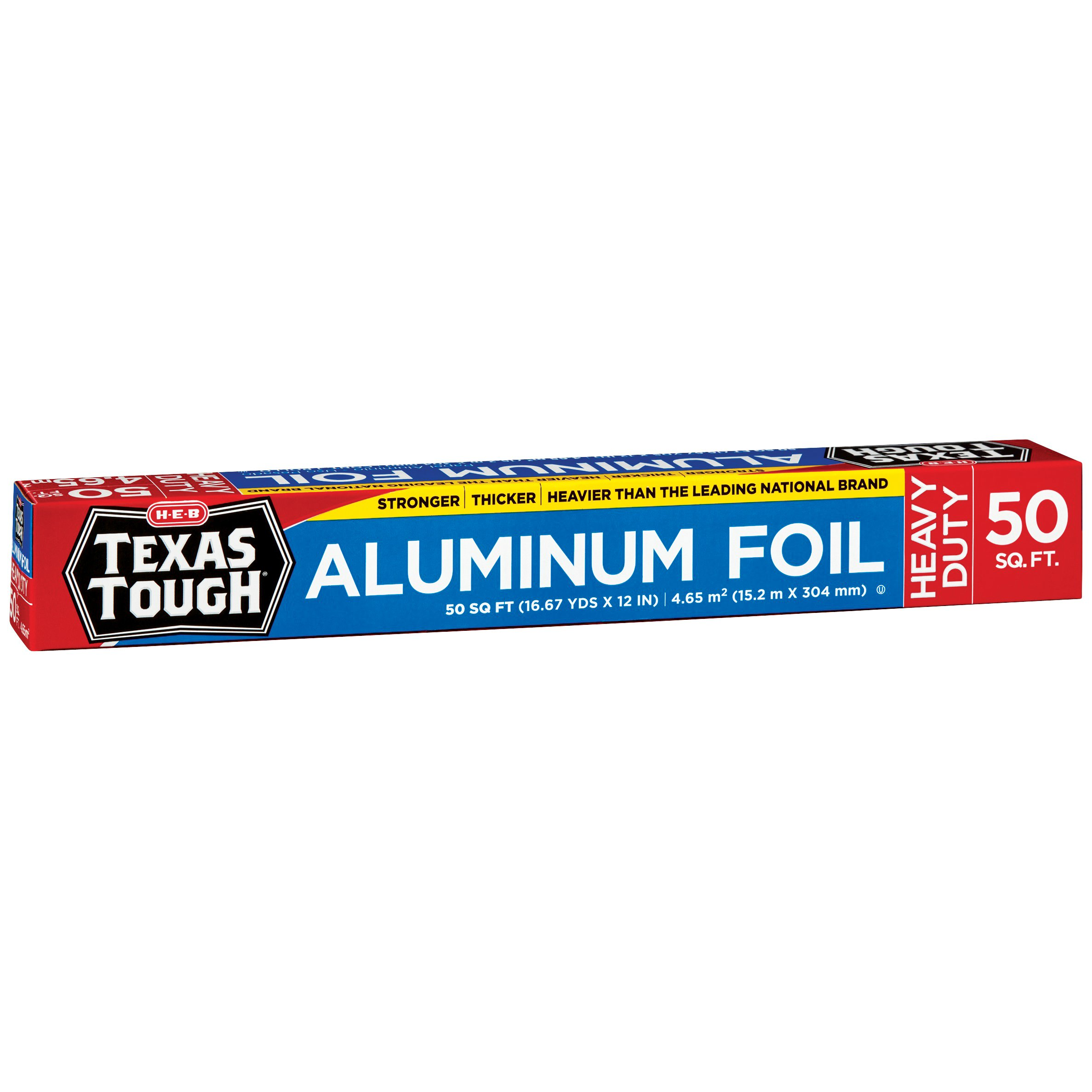 h u2011e u2011b texas tough heavy duty aluminum foil u2011 shop foil and baking