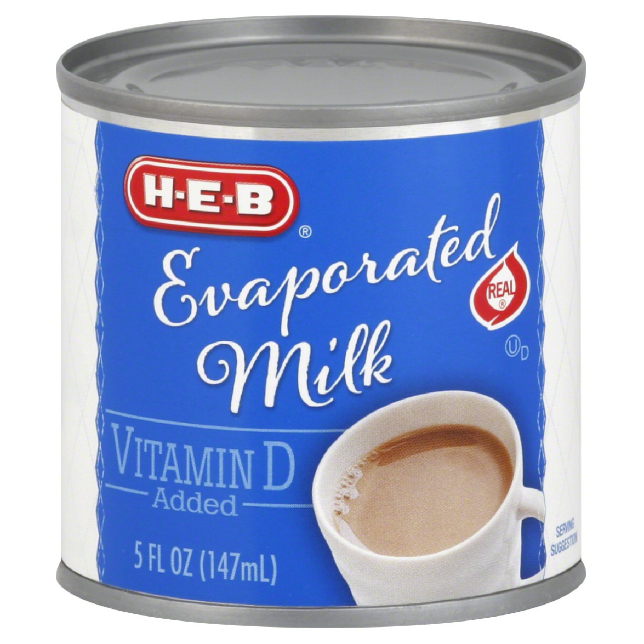 carnation evaporated milk nutrition facts