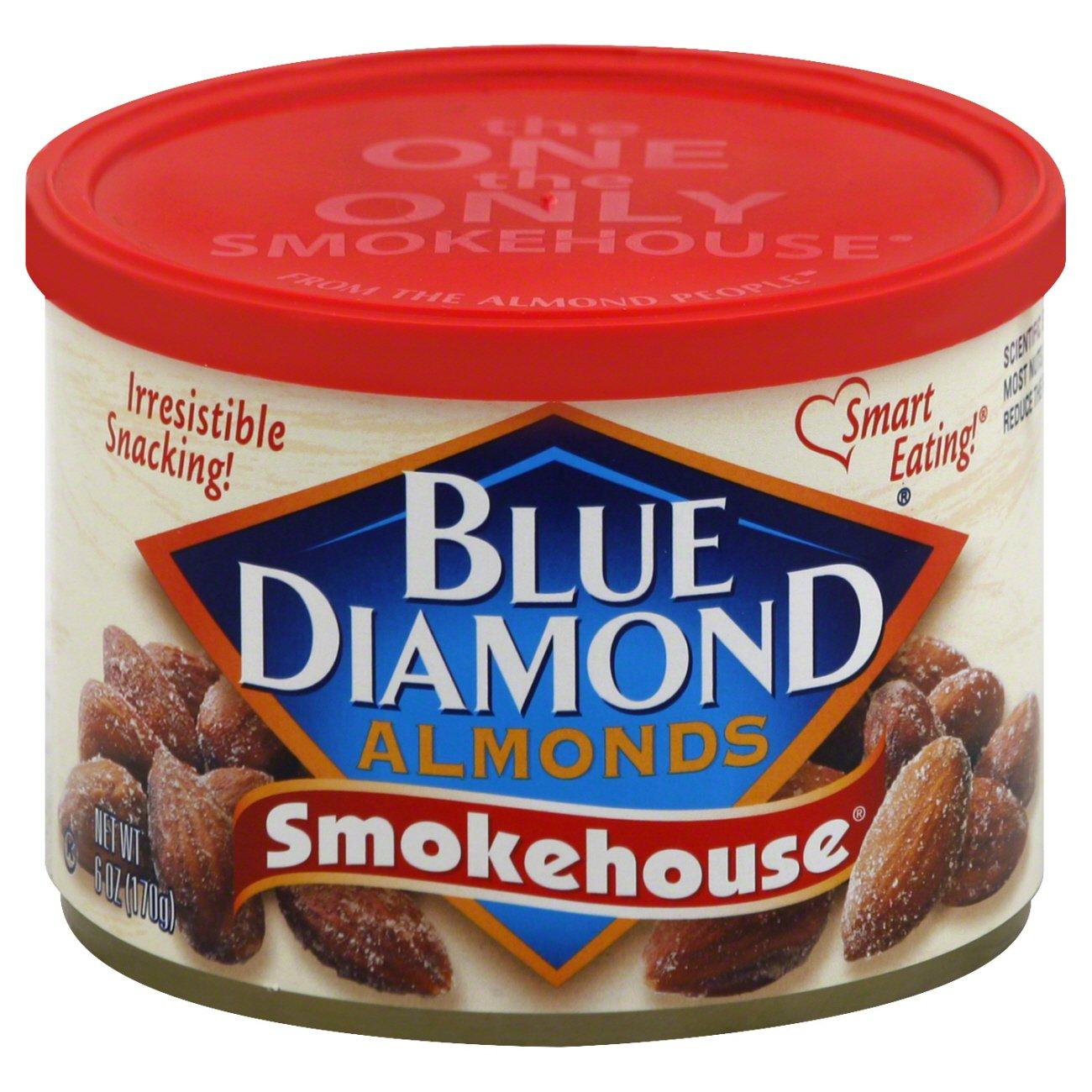 Blue Diamond Smokehouse Almonds - Shop