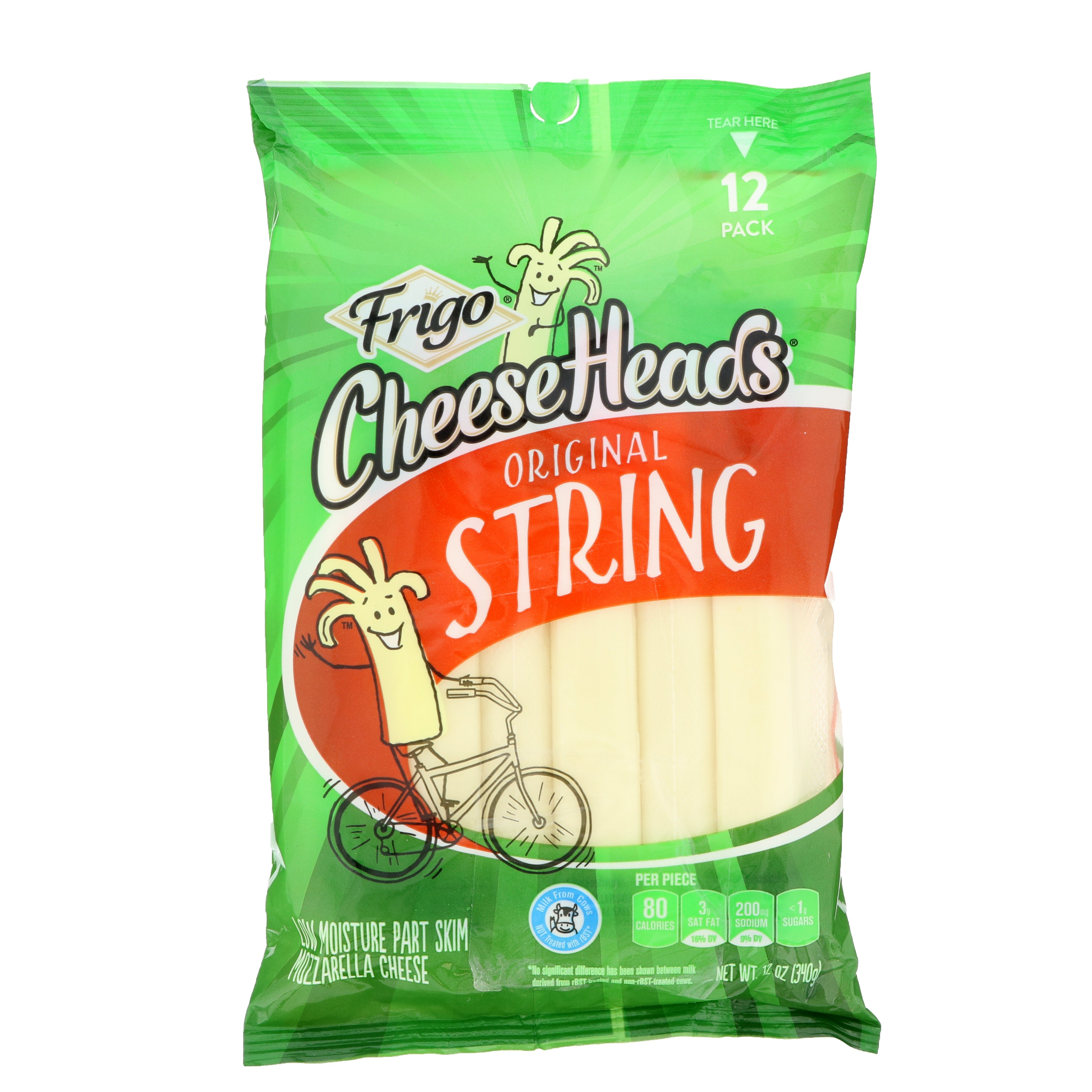 Frigo Cheese Heads Mozzarella String Cheese Shop String Cheese At Heb