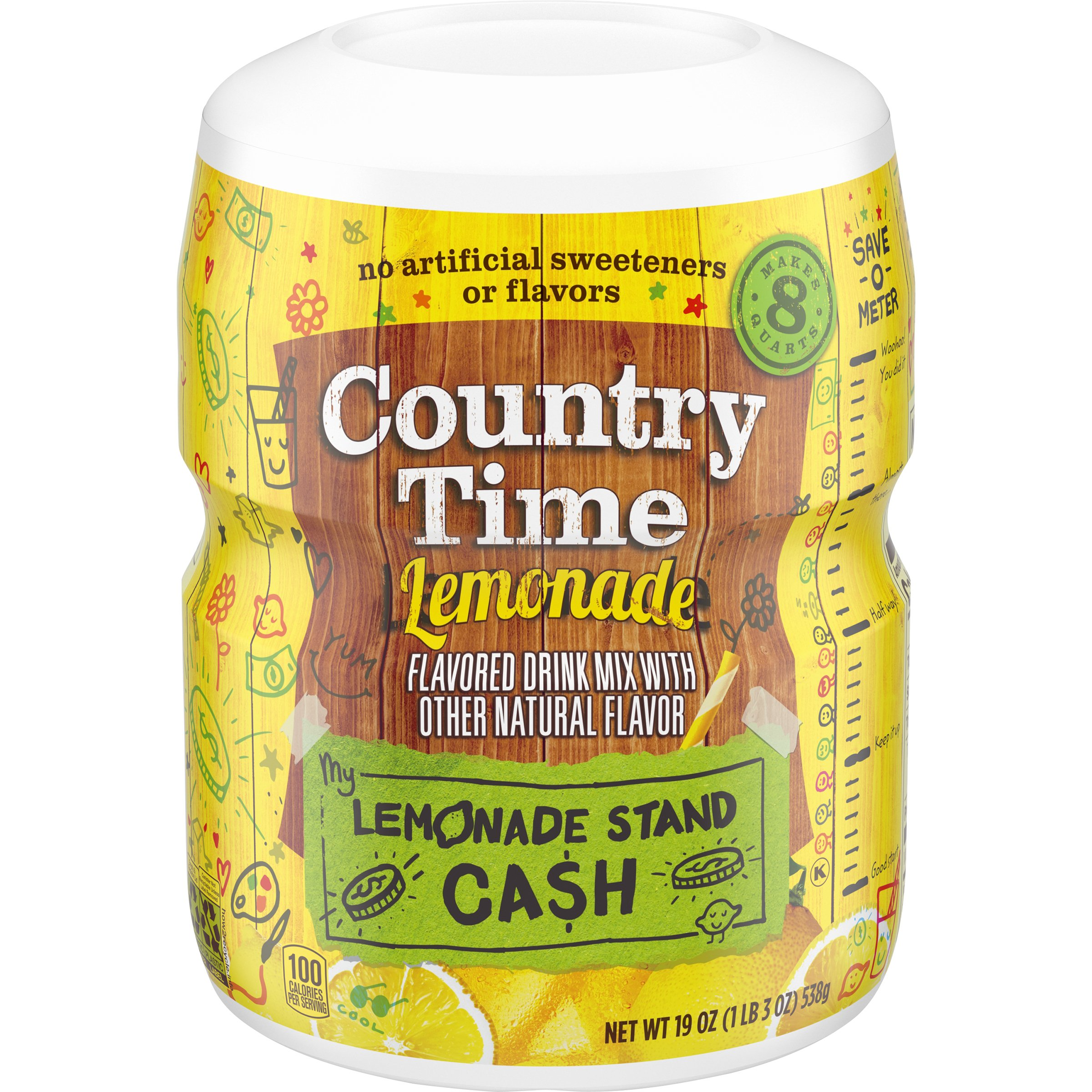 Country Time Lemonade Drink Mix Shop Mixes Flavor Enhancers At Heb