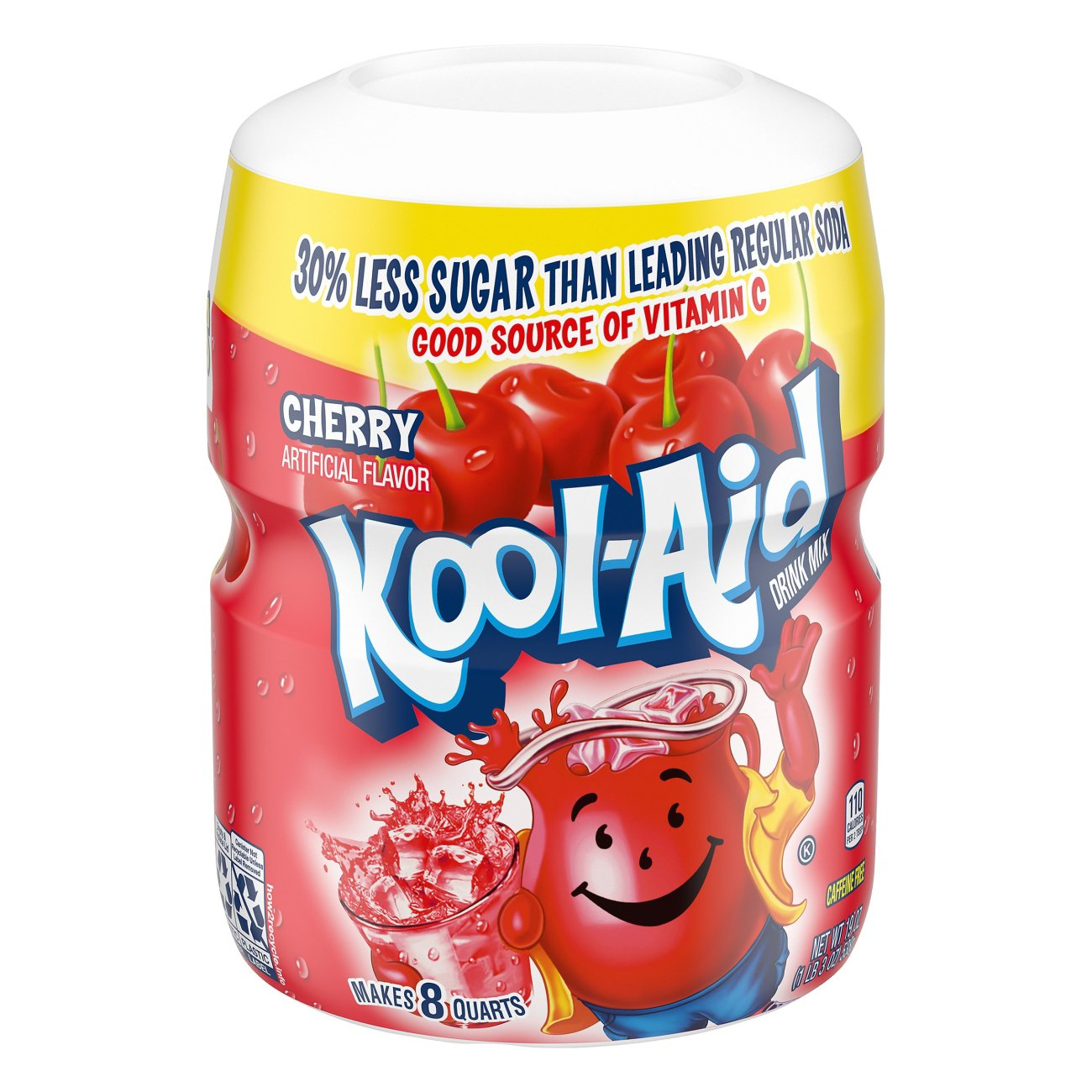 Kool‑Aid Cherry Drink Mix ‑ Shop Mixes & Flavor Enhancers at H‑E‑B
