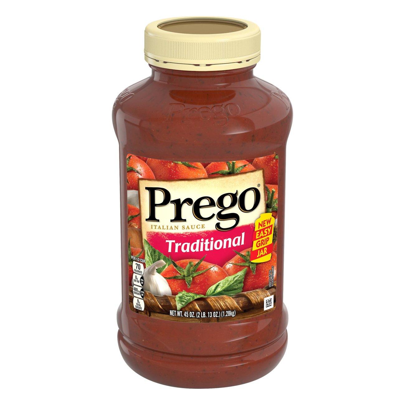 Prego Traditional Pasta Sauce ‑ Shop