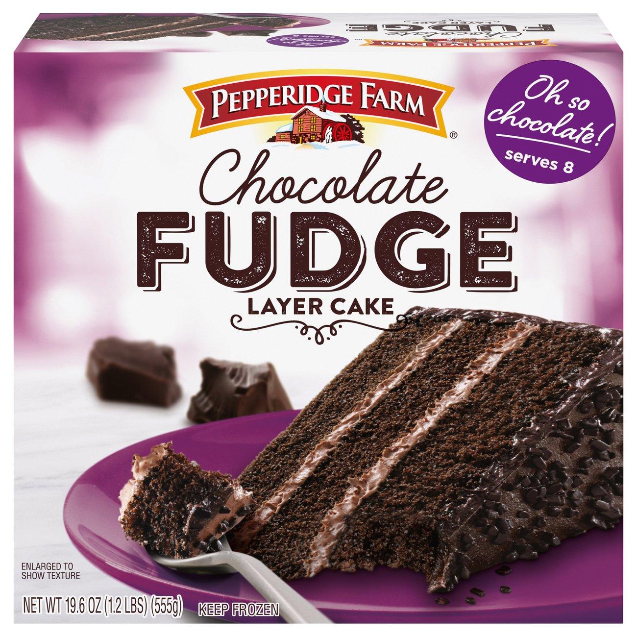 Pepperidge Farm Chocolate Fudge 3 Layer Cake Shop Desserts Pastries At H E B