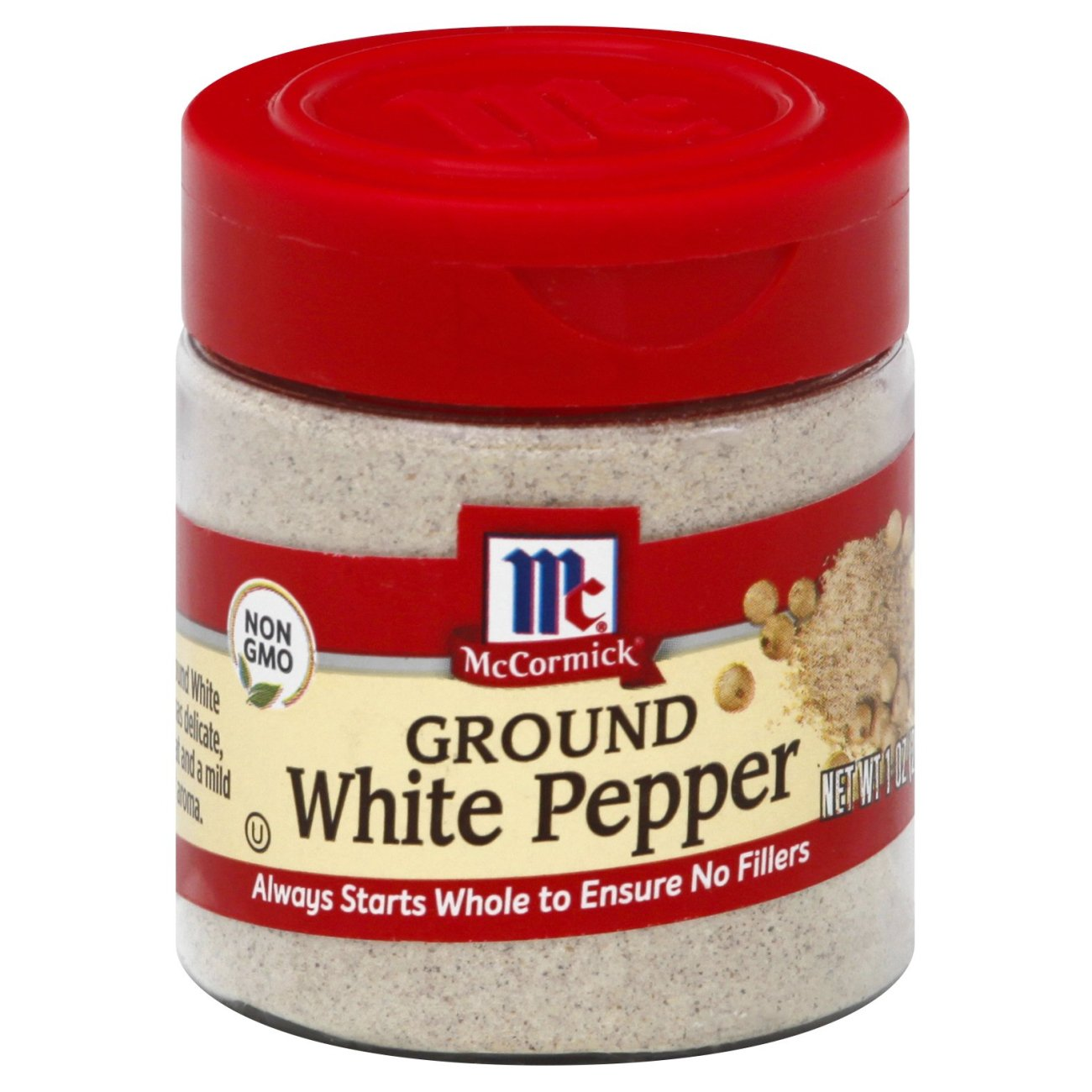 Mccormick Ground White Pepper Shop Herbs Spices At H E B