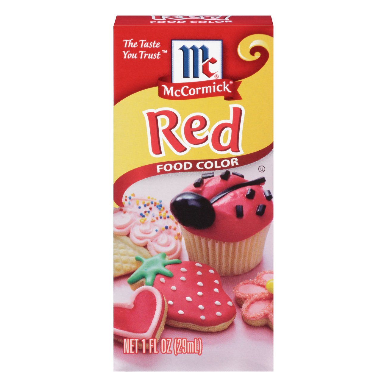 McCormick Red Food Color - Shop Extracts at HEB