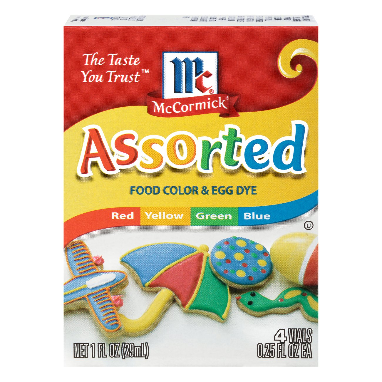 McCormick Assorted Food Color and Egg Dye - Shop Extracts at HEB