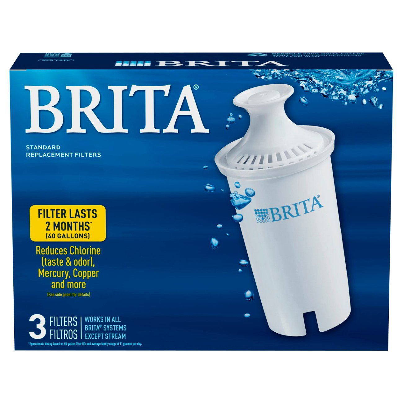 Brita Pitcher Replacement Filters Shop Water Filters At Heb