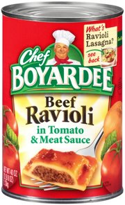 Chef Boyardee Beef Ravioli In Tomato Meat Sauce Roll Over Image To Zoom