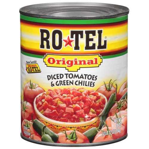 Rotel Original Diced Tomatoes And Green Chilies Shop Vegetables At H E B