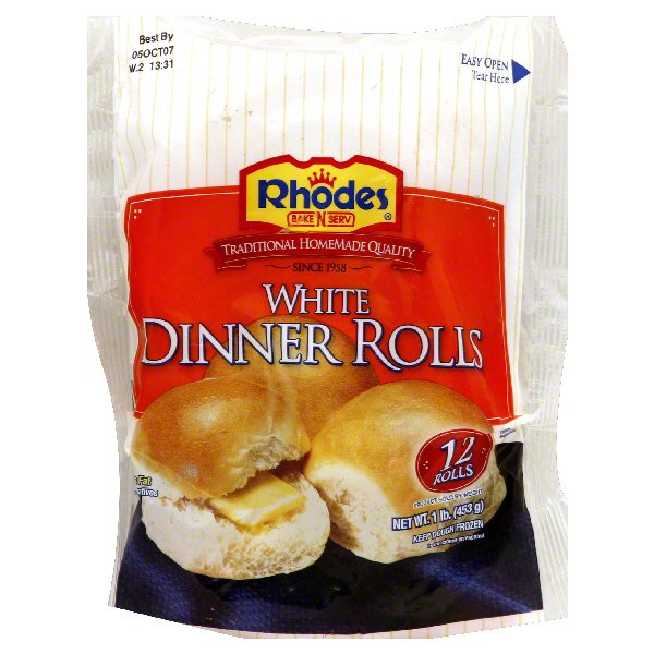 Rhodes Bake N Serv White Dinner Rolls Shop Bread At H E B
