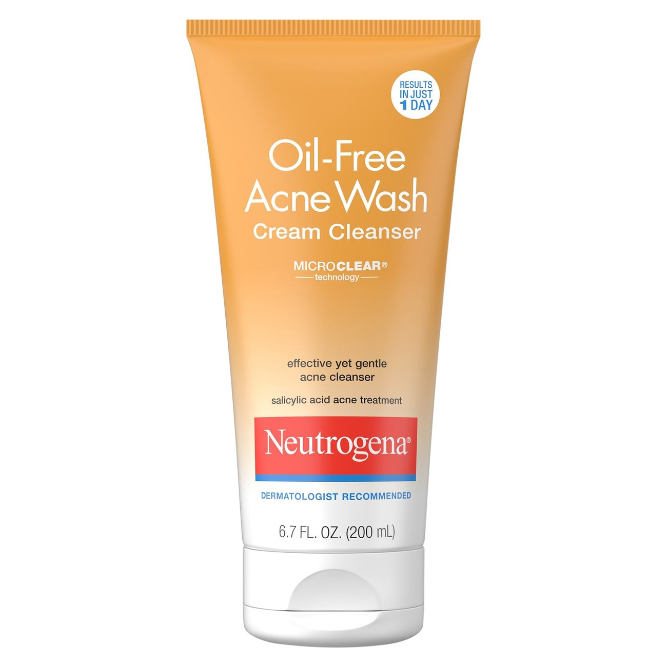 Neutrogena Oil Free Acne Wash Cream Cleanser Shop Facial