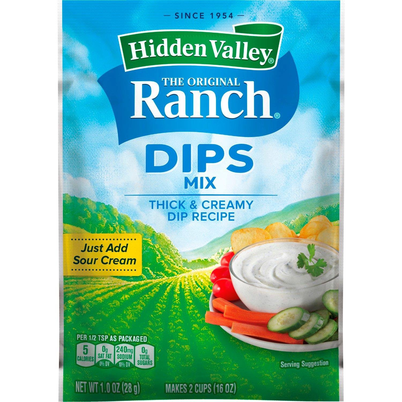 Hidden Valley The Original Ranch Dips Mix Shop Salad Dressings At H E B