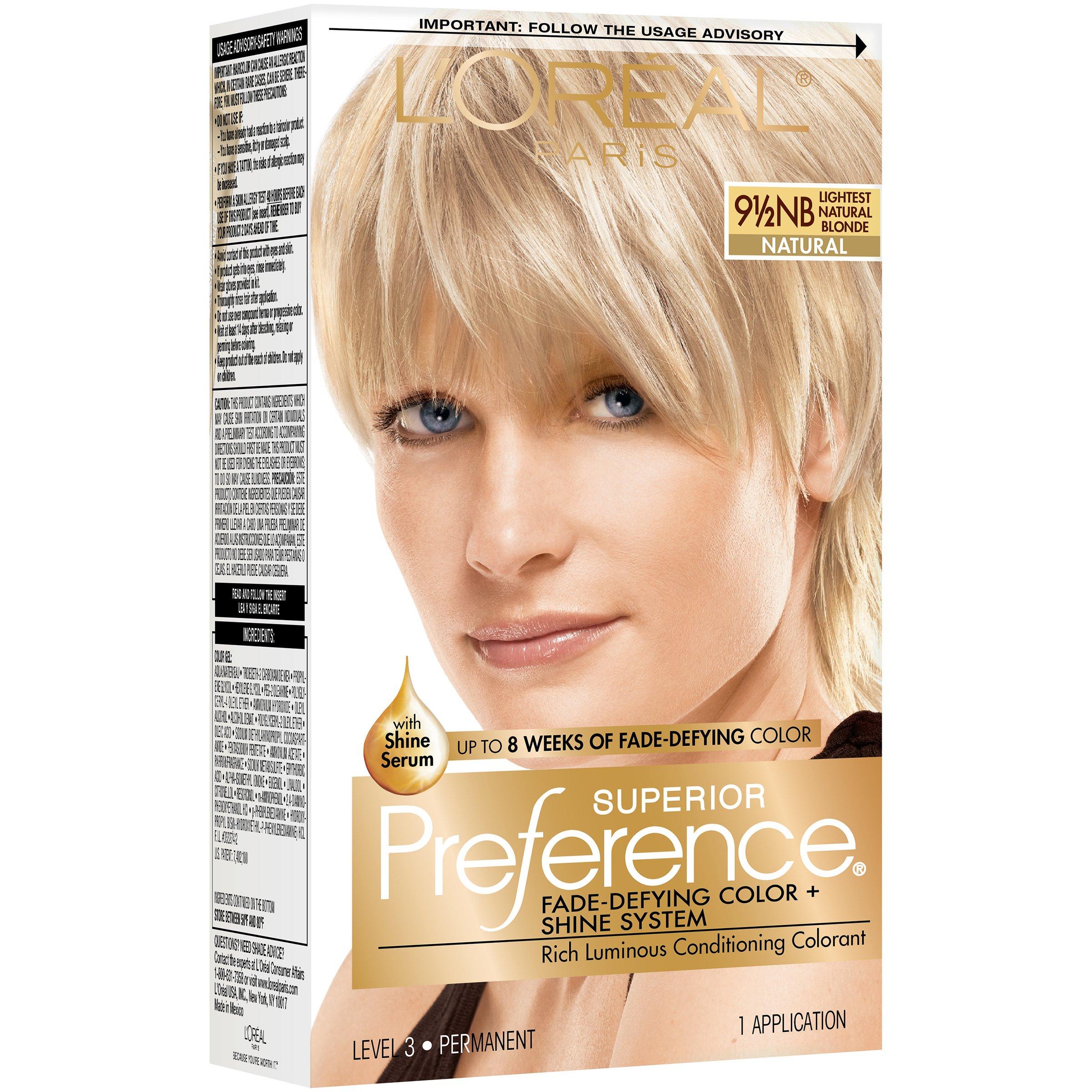 Loreal Paris Superior Preference 912 Nb Lightest Natural Blonde