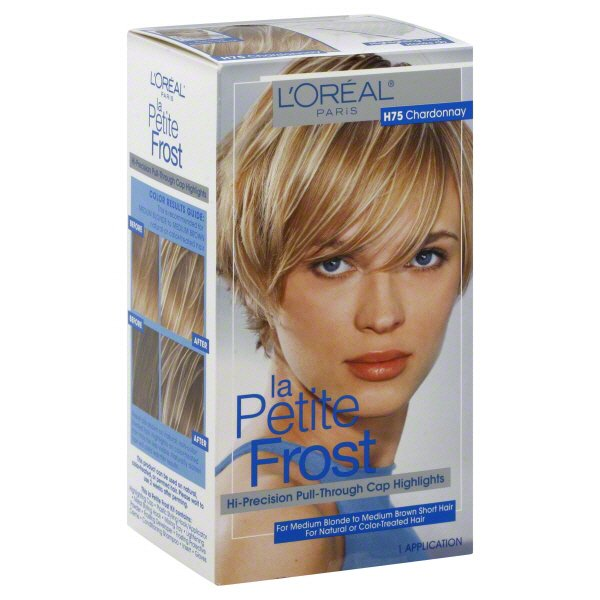 L Oreal Paris La Petite Frost H75 Chardonnay Hi Precision Pull Through Cap Highlights Shop Hair Color At H E B