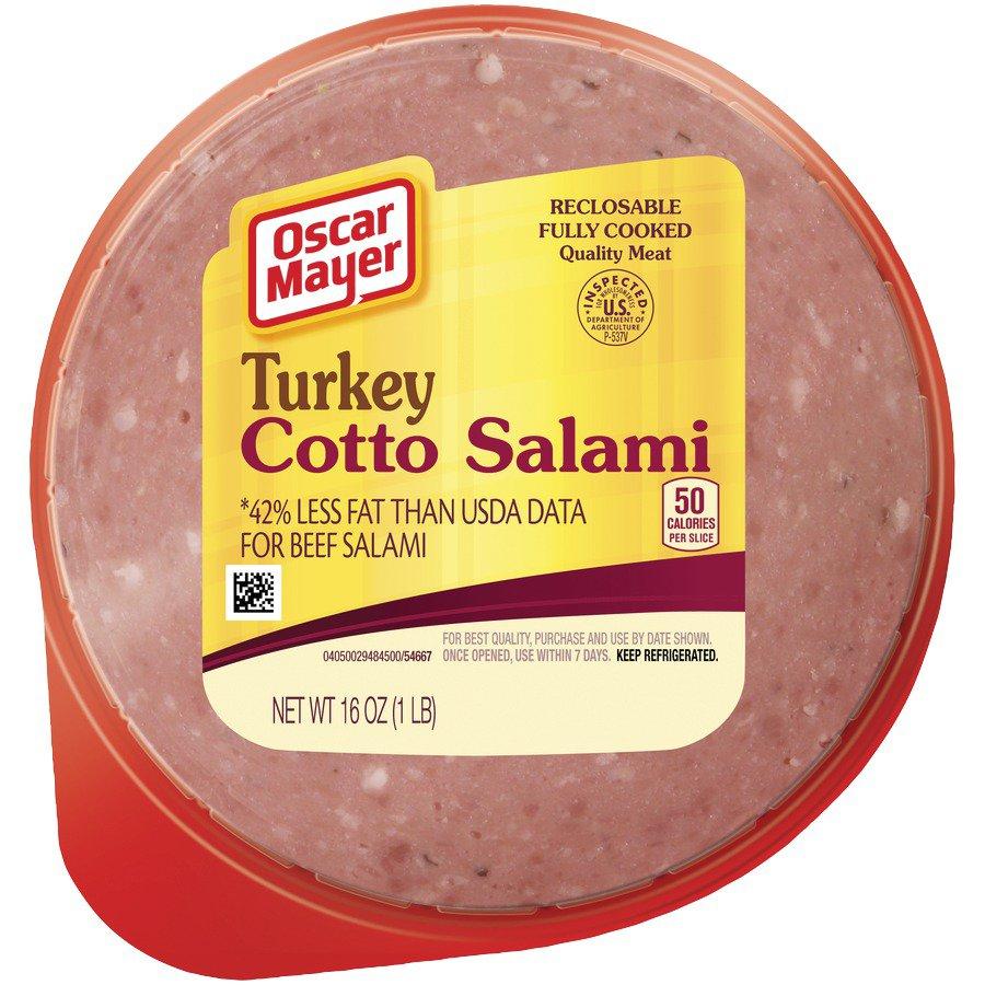 Oscar Mayer Turkey Cotto Salami - Shop